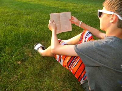 Summer escapes in pages of a book