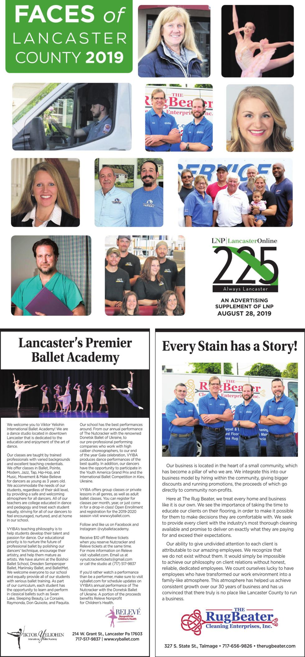 Faces of Lancaster County 2019