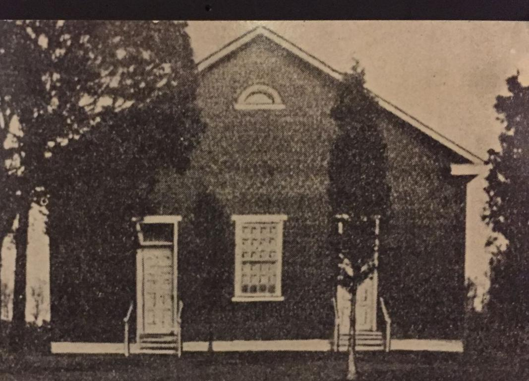 Mountville's initial United Brethren in Christ Church