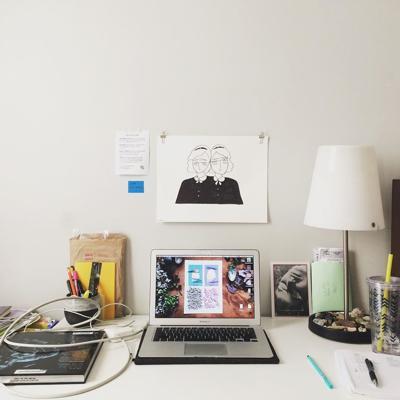 Erin Dorney home office