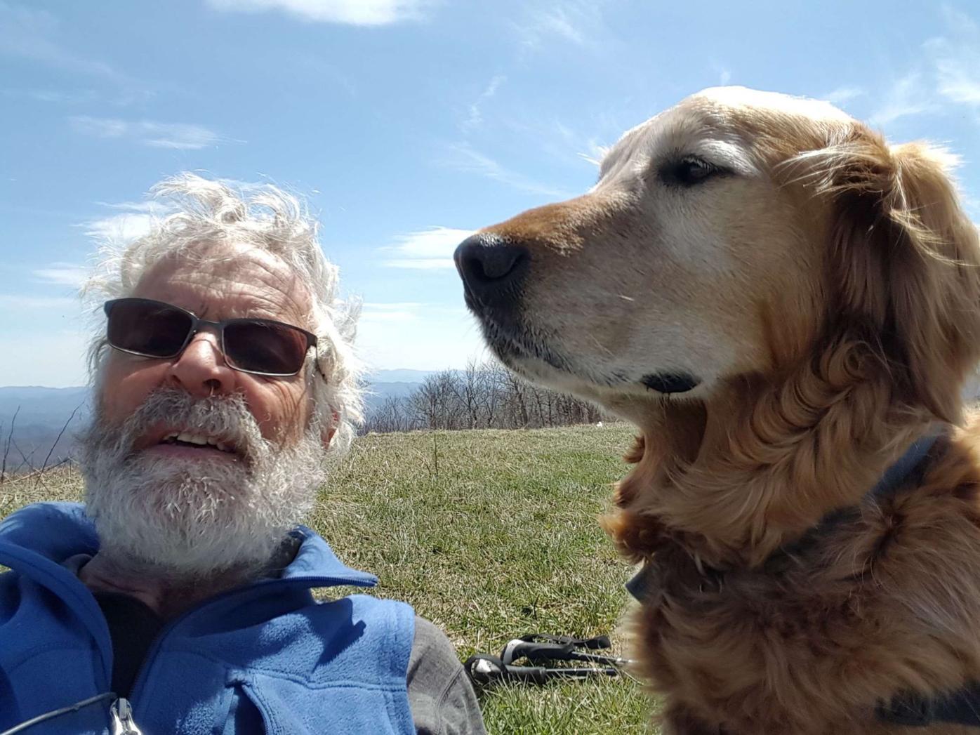 Appalachian trail hiker