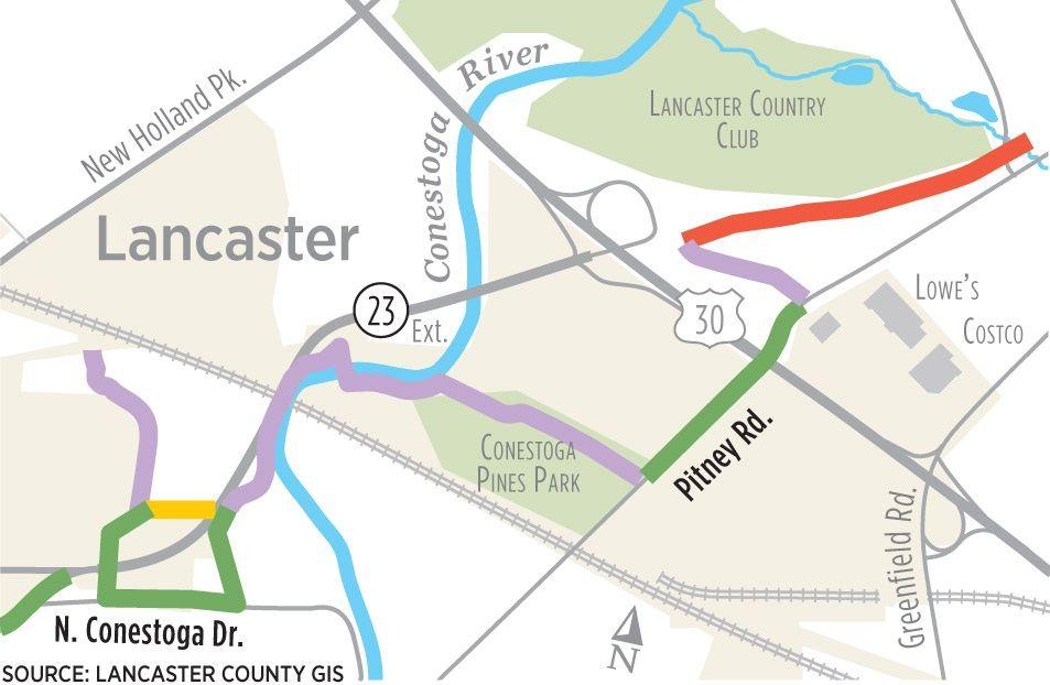 Lancaster city bikeways grants