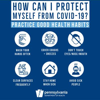 Image result for PA covid 19 recommendations