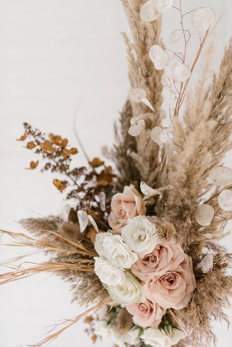 Dried Flowers And Grasses Are The New Wedding Floral Trend Food Living Lancasteronline Com