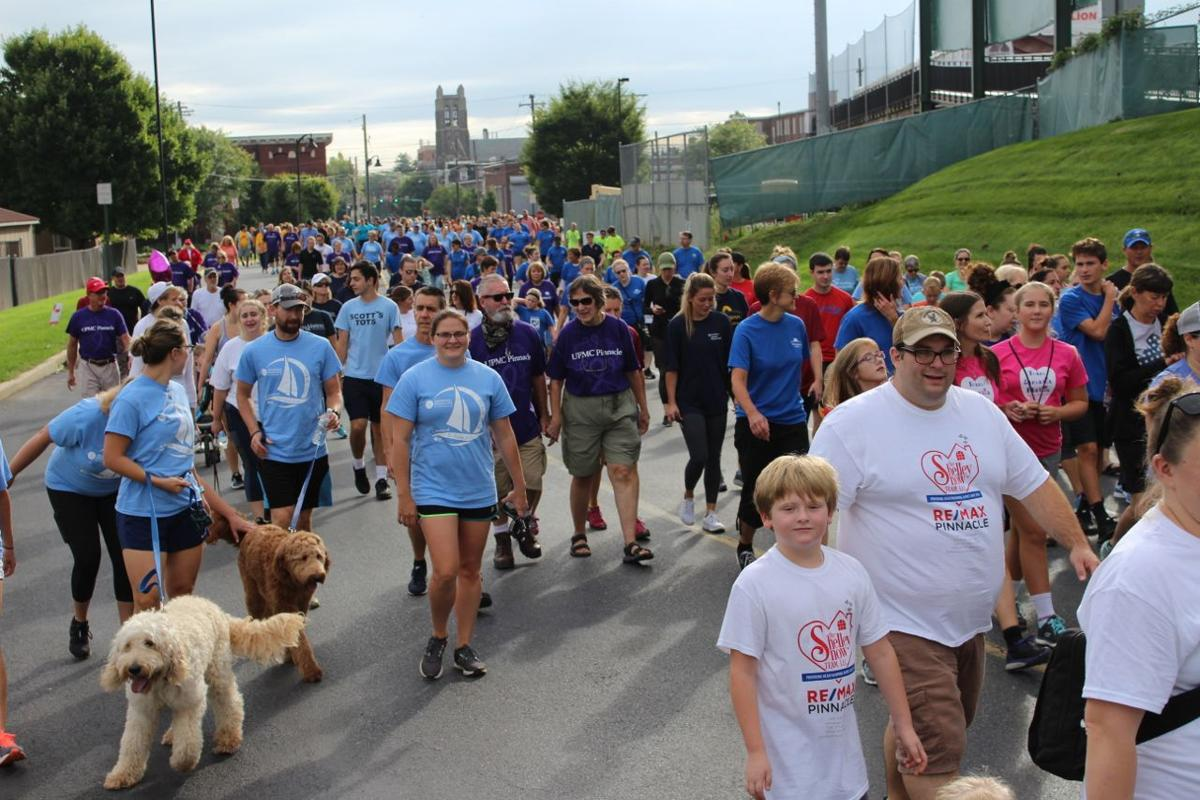 Lancaster Heart Walk 2018 crowd