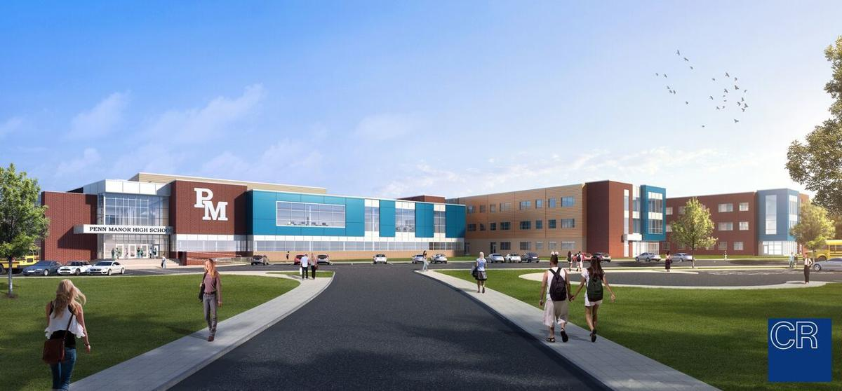 Penn Manor High School rendering