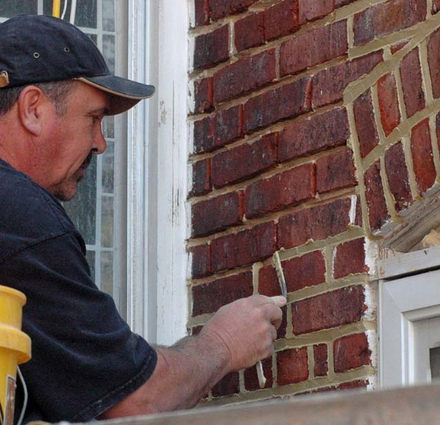 Joint facelifting: Repointing masonry protects structure