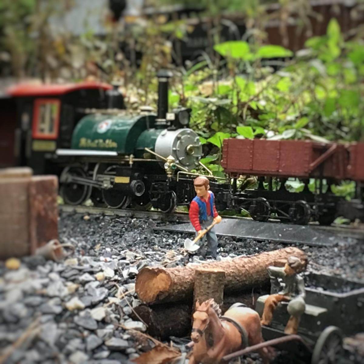 elaborate backyard garden railroads on display in 10th annual