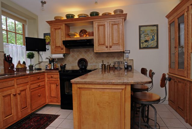Charming Lancaster Company Historic Restorations Remodels Kitchen In 19th Century  Home