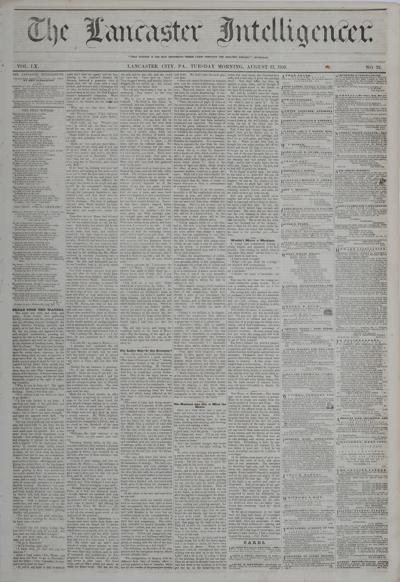 Front page - 1859