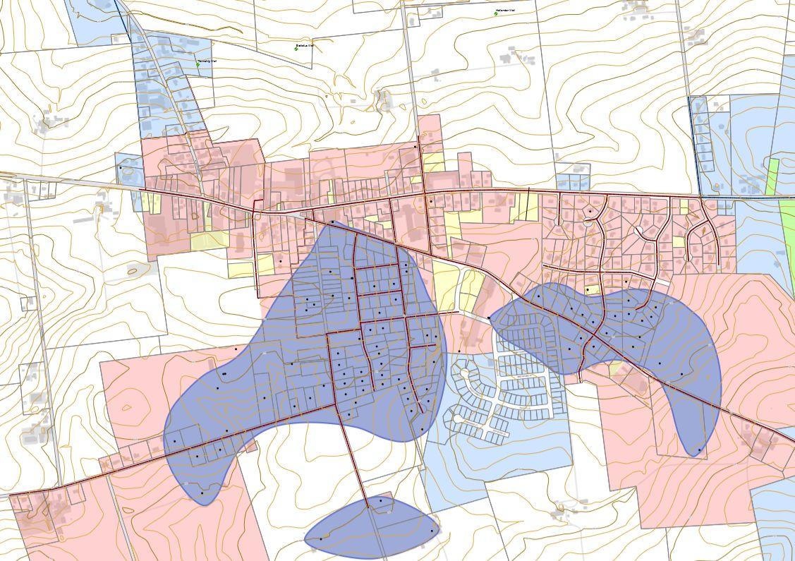 Intercourse Water Contamination Map