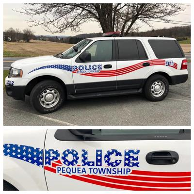 Pequea Township police vehicles