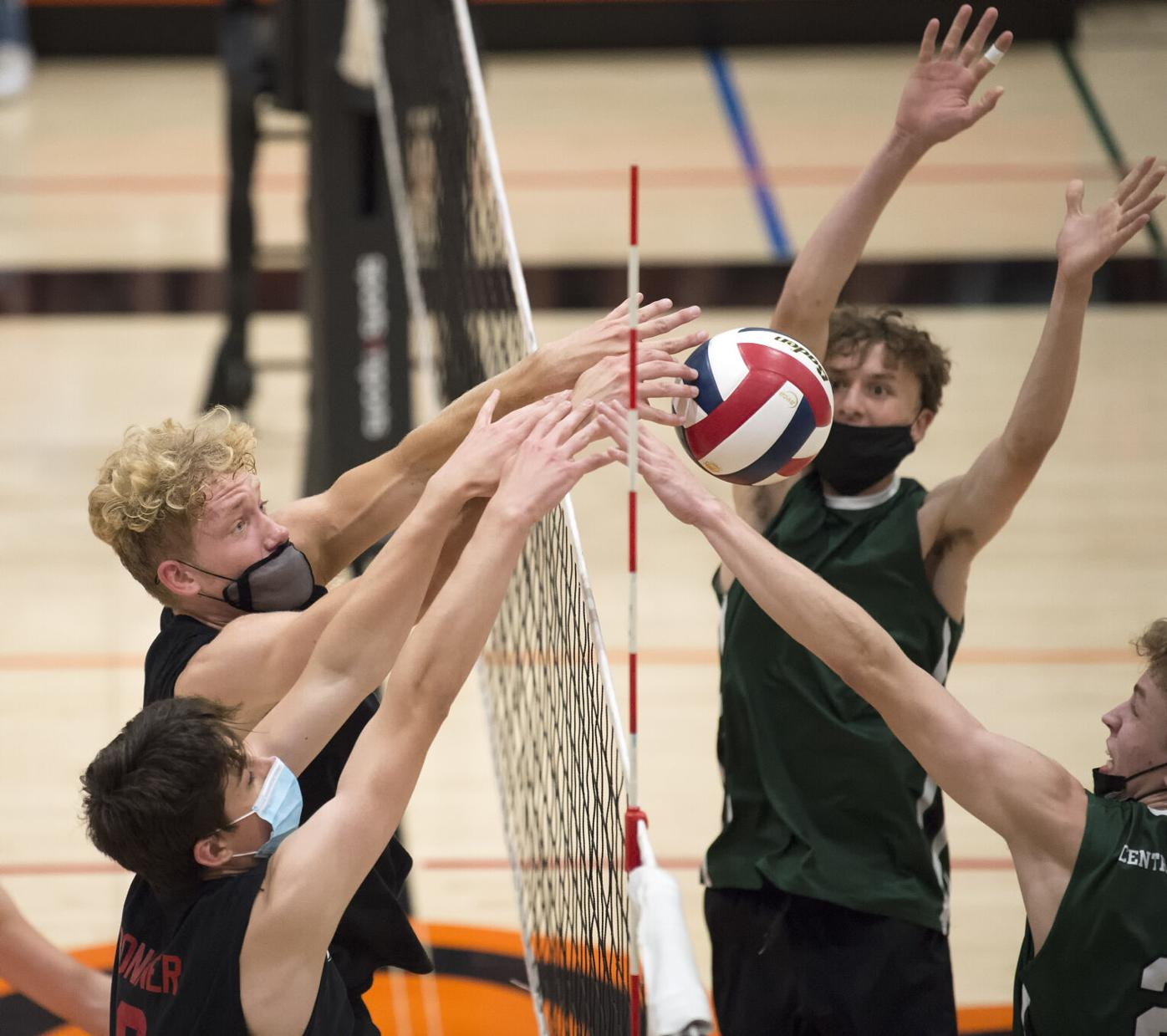 Hempfield vs. Central Dauphin- PIAA 3A boys volleyball semifinal