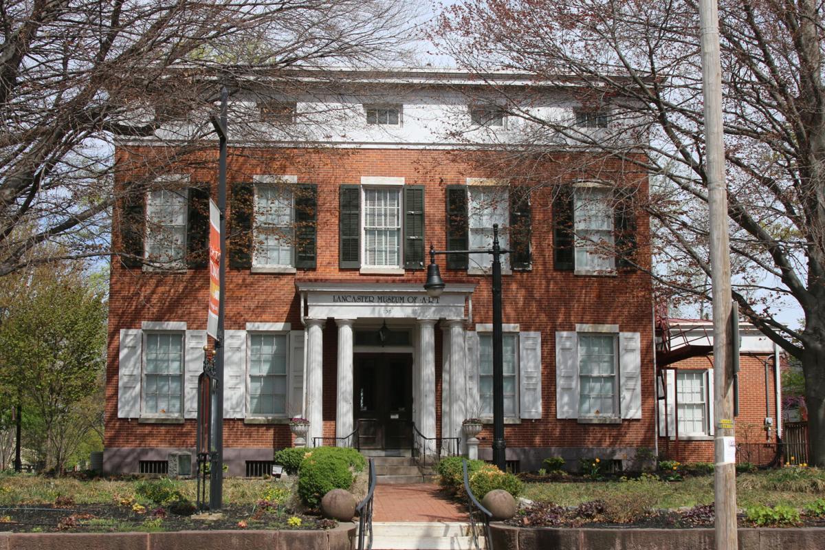 Grubb Mansion c1846 - third story windows incorporated in cornice board.JPG