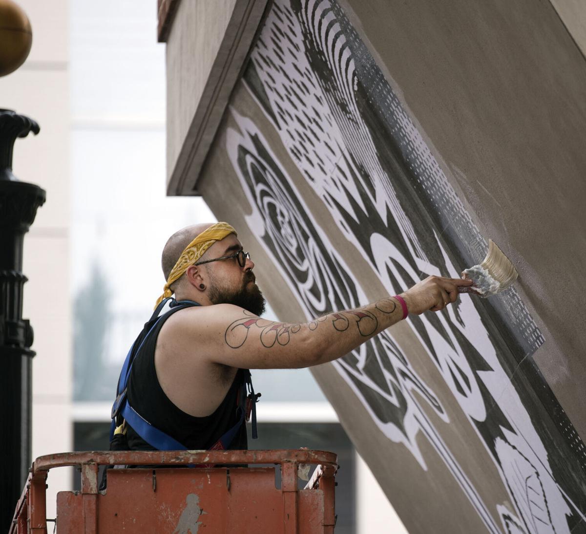 Artist Adam Serrano