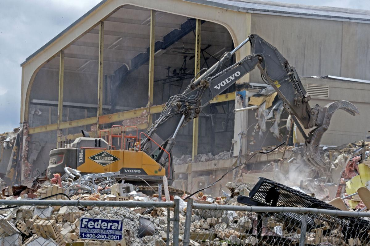 West Gym demolition