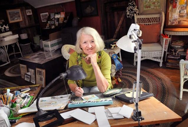 For artist Arlene Fisher, the details tell the story Exhibit at Skyler Blu celebrates 40-year career