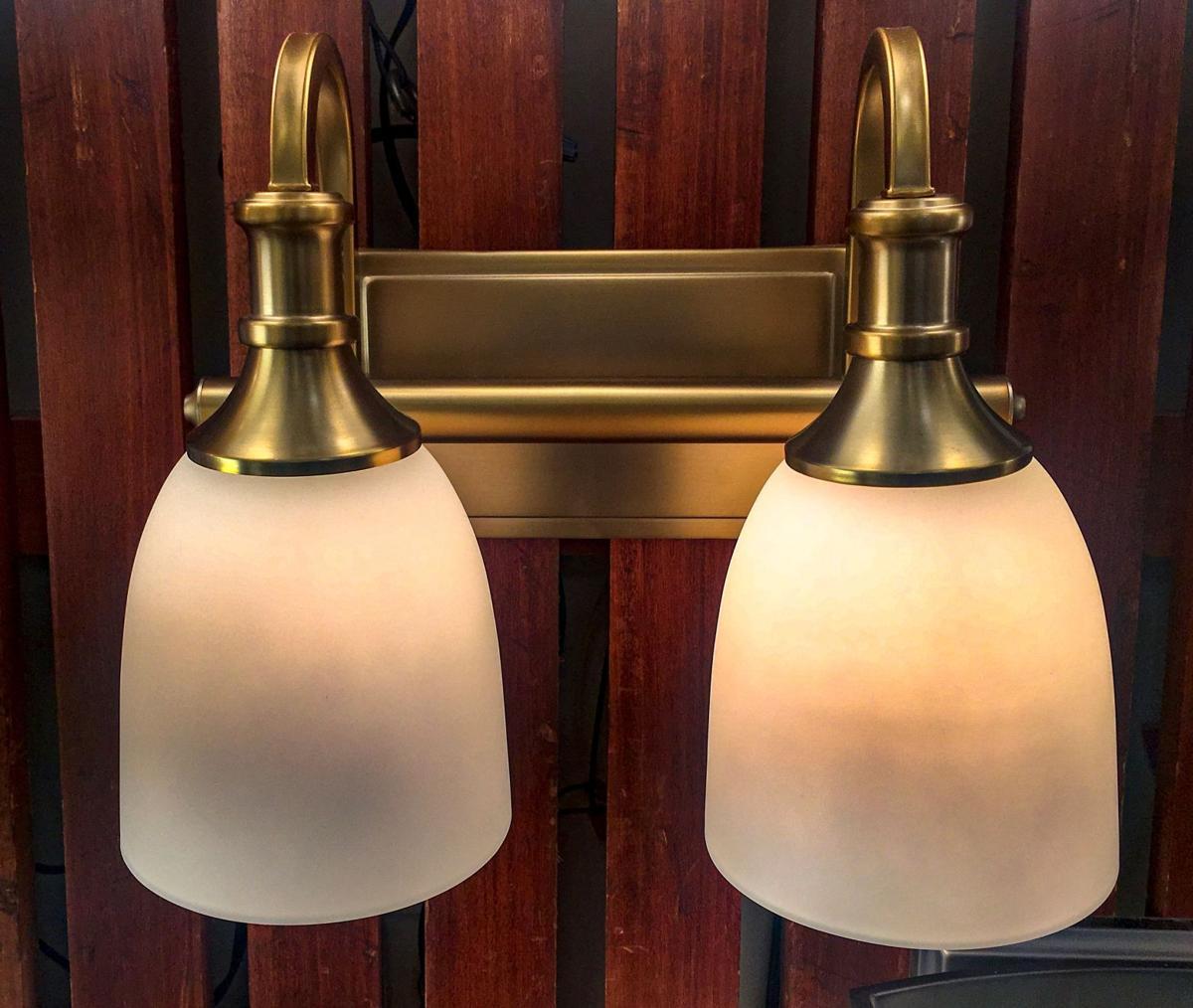 matte gold lighting