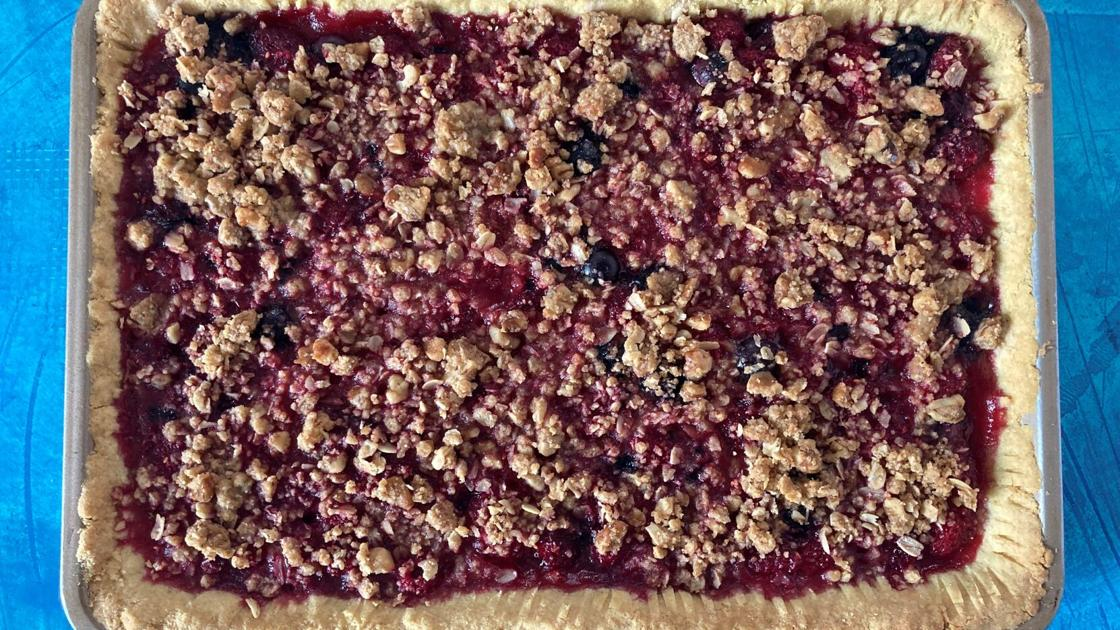A berry slab pie so good this food writer made it twice in one week [recipe]   Food