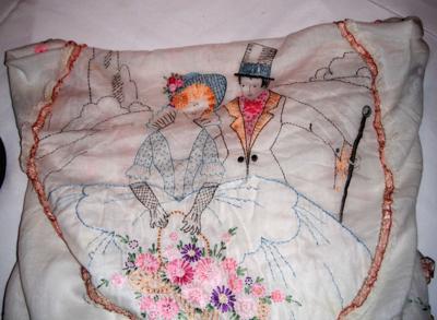 textiles antiques Dr. Lori column