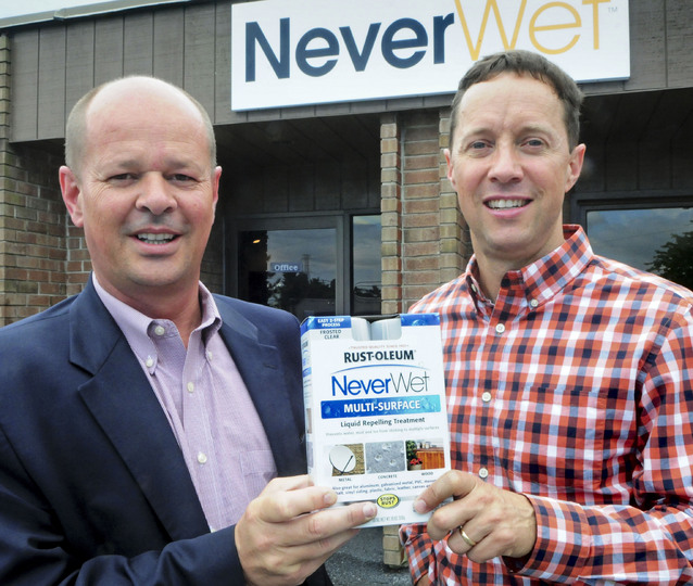 Magical NeverWet arrives in stores