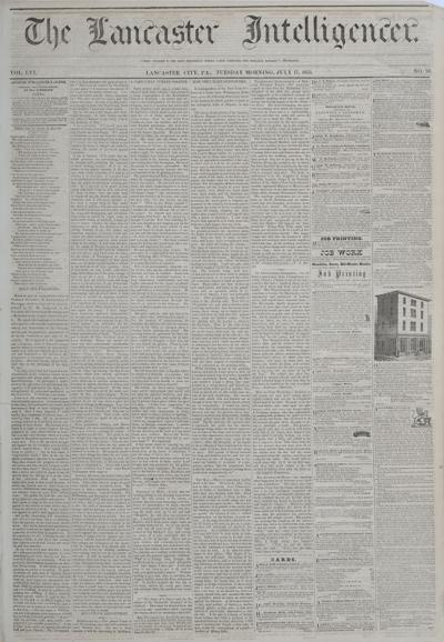 Front page - 1855