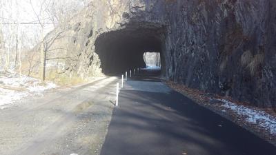 Northwest River Trail railroard tunnel