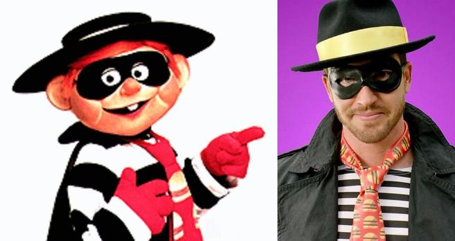 the original mcdonalds hamburglar has been replaced by a more hip version
