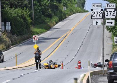 2 injured in motorcycle crash in East Drumore Township on Saturday