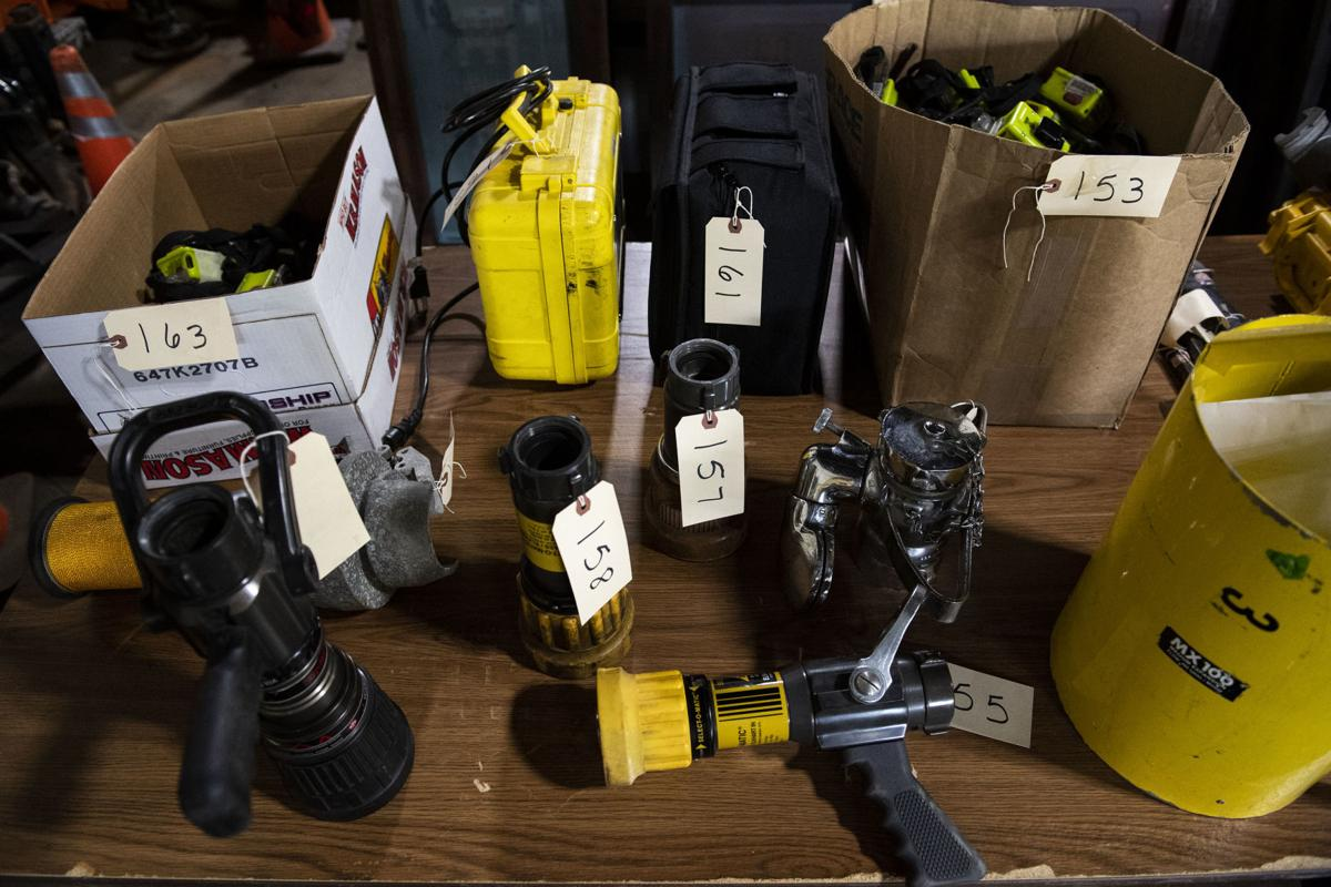 Cars, cameras, beakers and bikes: hundreds of items auctioned off by