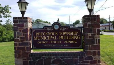 Brecknock Township municipal building sign