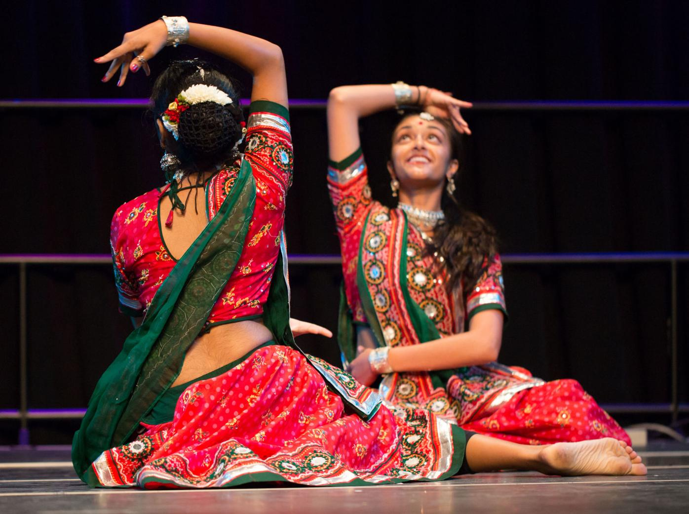 Dance performance during a previous Namaste festival