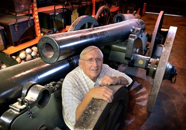 Charlie Smithgall's cannons: Former Lancaster mayor helps 'Lincoln' look authentic
