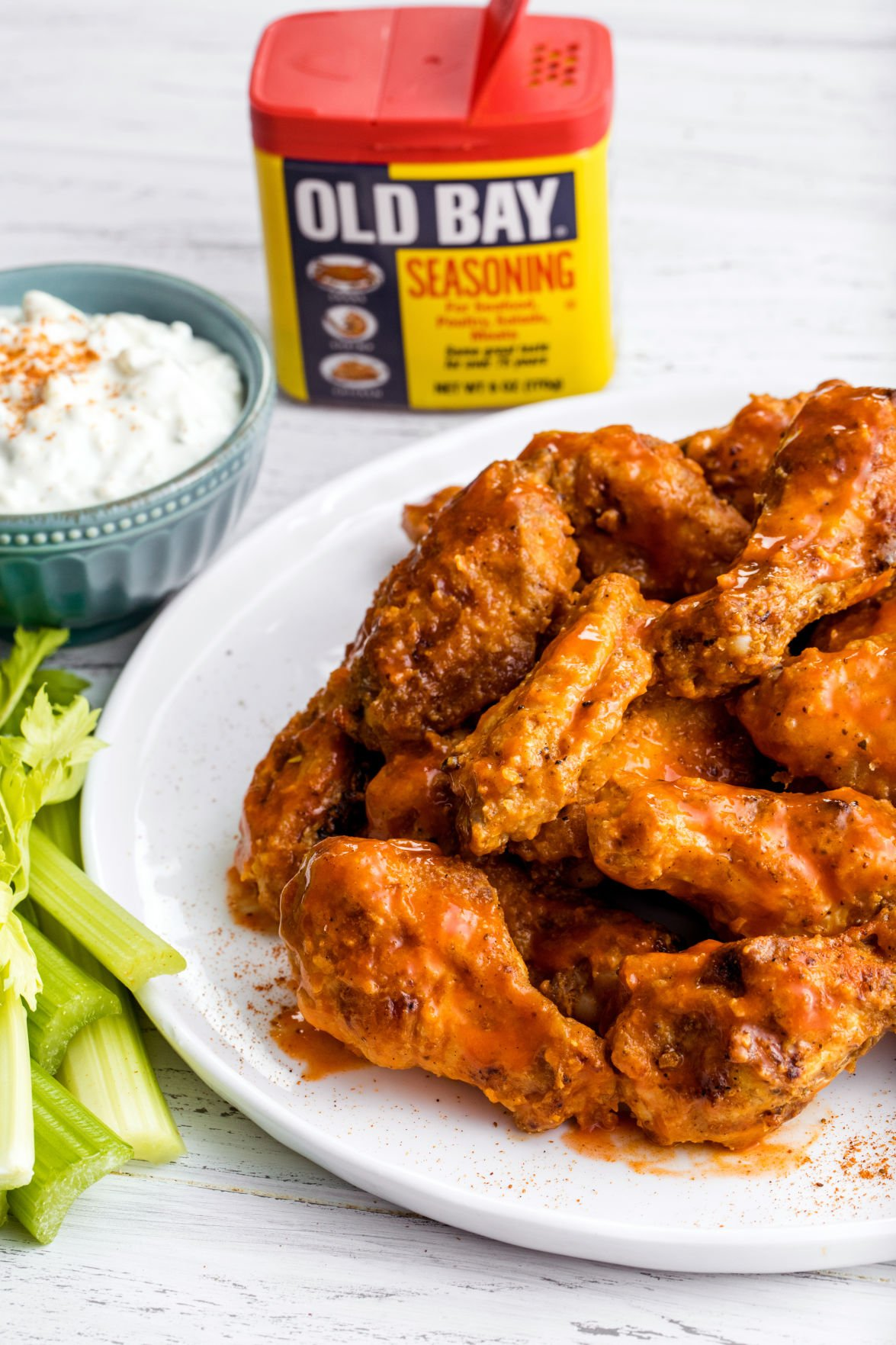 Old Bay Buffalo Wings