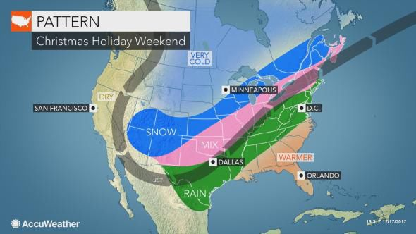 High in mid-50s forecast today in Lancaster County; Rain, ice or snow possible over Christmas ...
