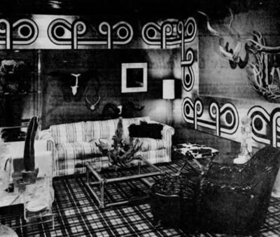 Interior design, circa 1971