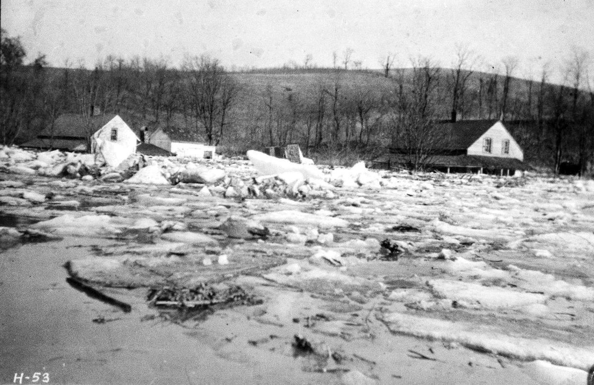 Safe Harbor 1904 ice flood