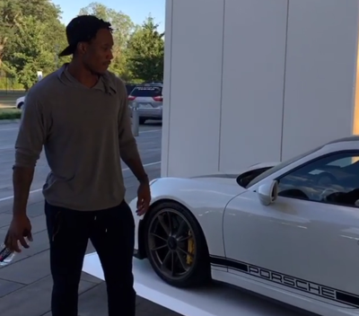 hot sale online 871b6 7e81c Antonio Brown's Rolls-Royce vs. Brandon Marshall's Porsche ...