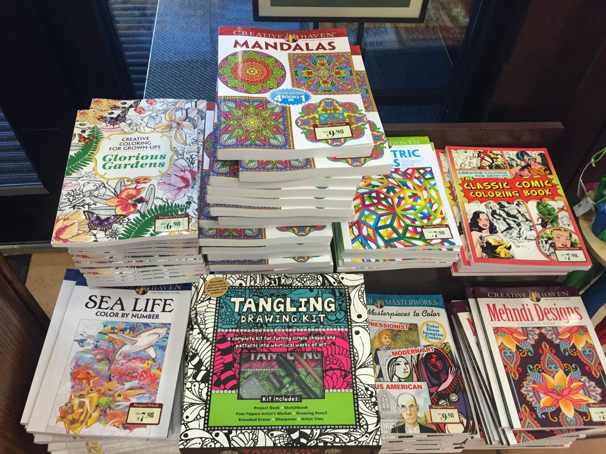 Coloring Book Night For Grownups Draws A Packed House