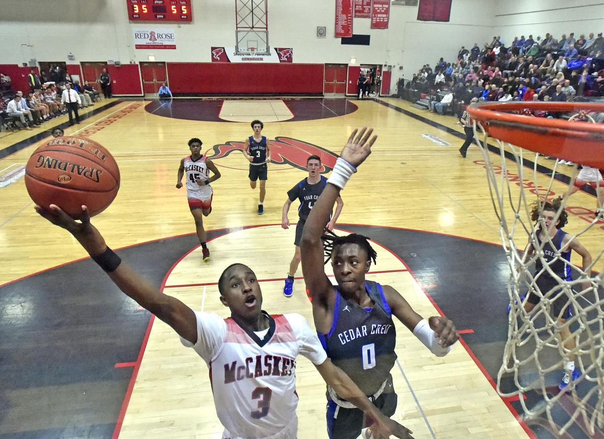 McCaskey vs Cedar Crest-LL Boys Basketball