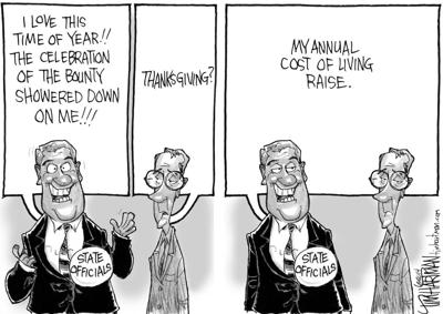 Cost of living cartoon
