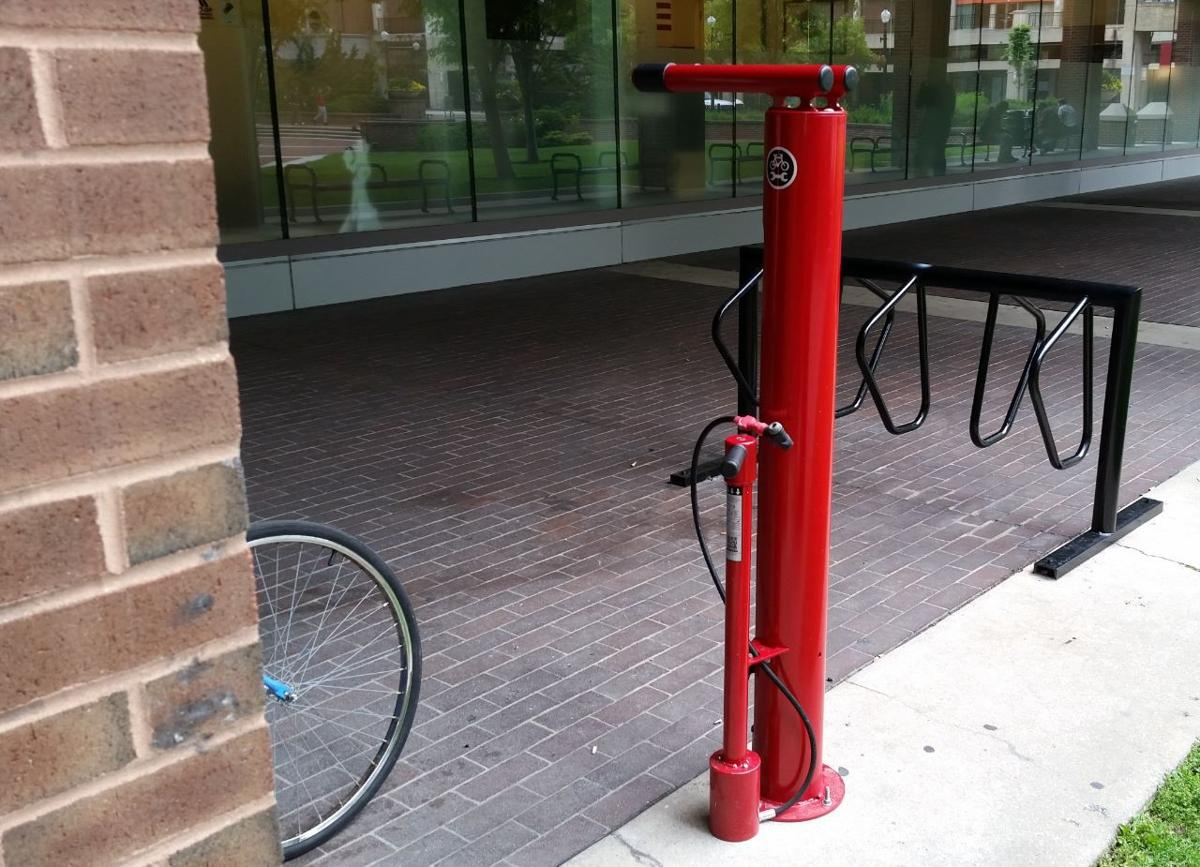 First Of 2 Lancaster City Bicycle Repair Stations To Be Unveiled