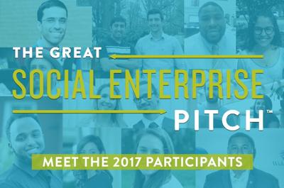 11 ideas selected for 2017 Great Social Enterprise Pitch