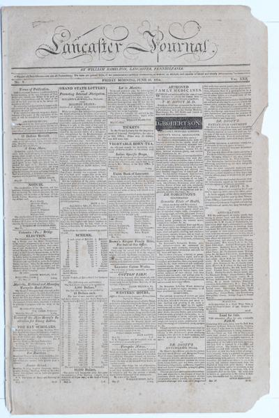 Frontpage 1814