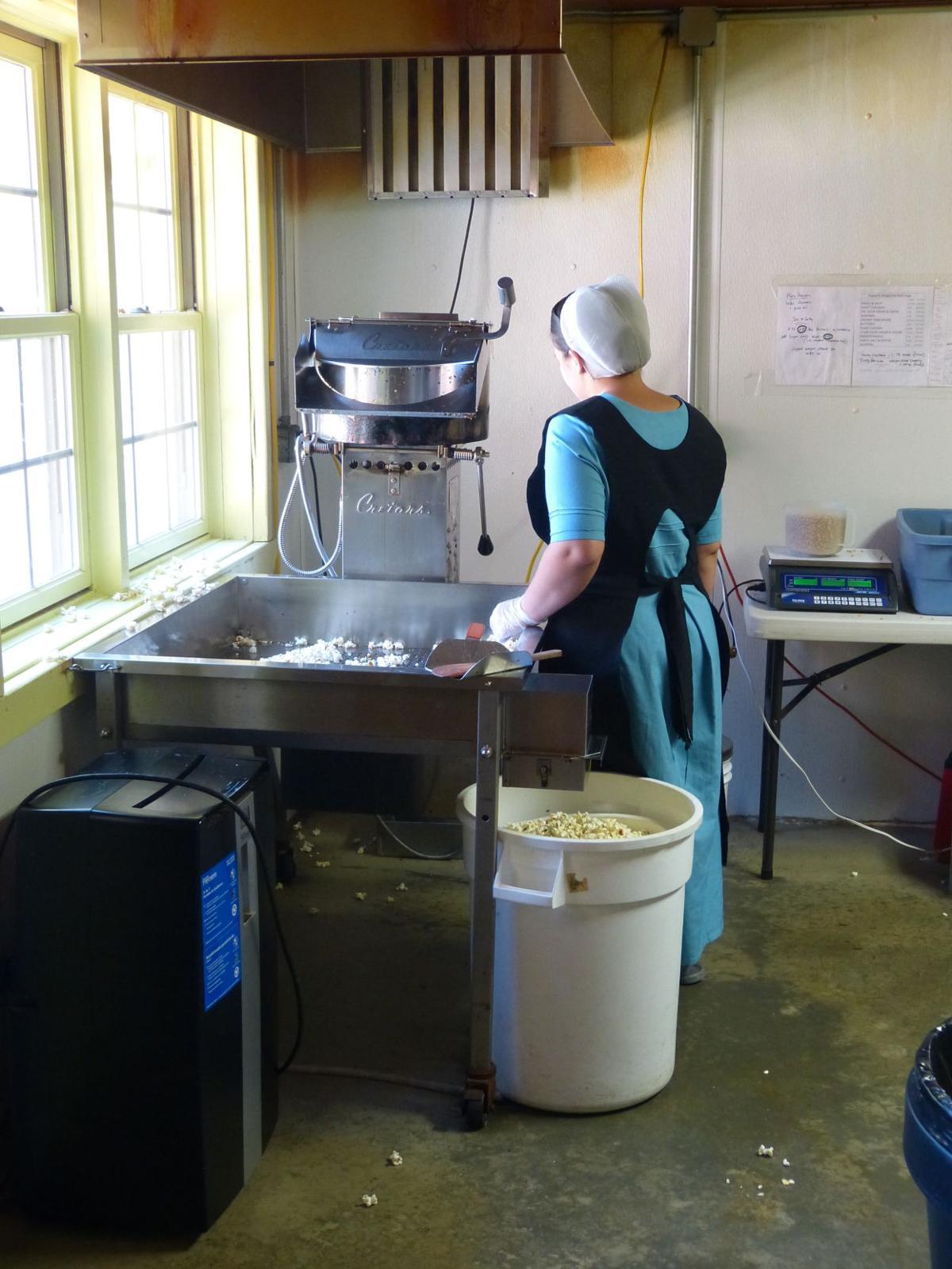 Amish conference - Emma's Gourmet Popcorn