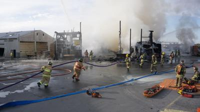 Man dies of complications from burns suffered in fire at Upper