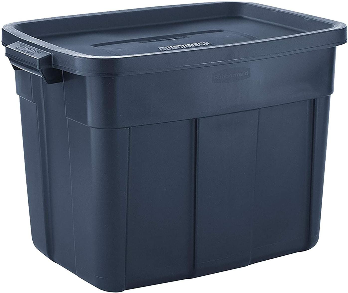 plastic tub for storage