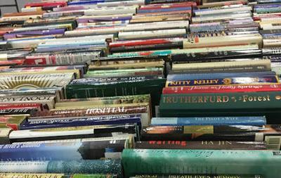 Books at book sale