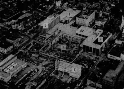 Lancaster Square aerial 1970