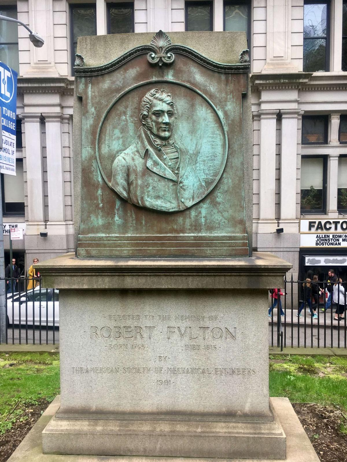 Robert Fulton grave
